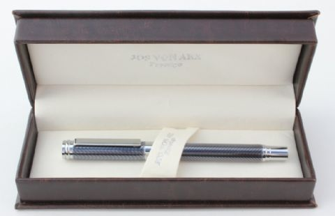 Jos Von Arx Prestige WR15 Fountain Pen Grey Clear Lacquer Pen Set